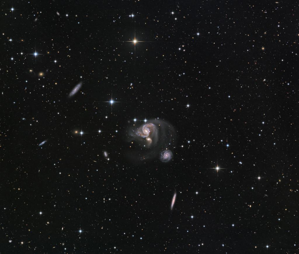 Hickson 91 in Piscis Austrinus