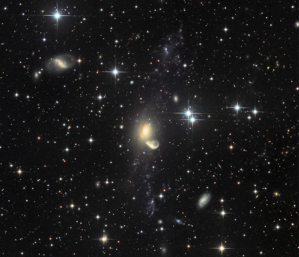 Recycling NGC 5291