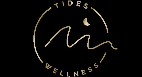 TIDES Wellness Circle Logo (Gold)