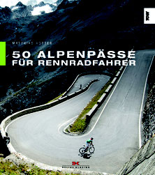 - Matthias Rotter: 50 Alpenpässe für Rennradfahrer, 144 Seiten, 3. Auflage 2017, Delius Klasing, 24,90 Euro, ISBN 978-3-667-11169-2