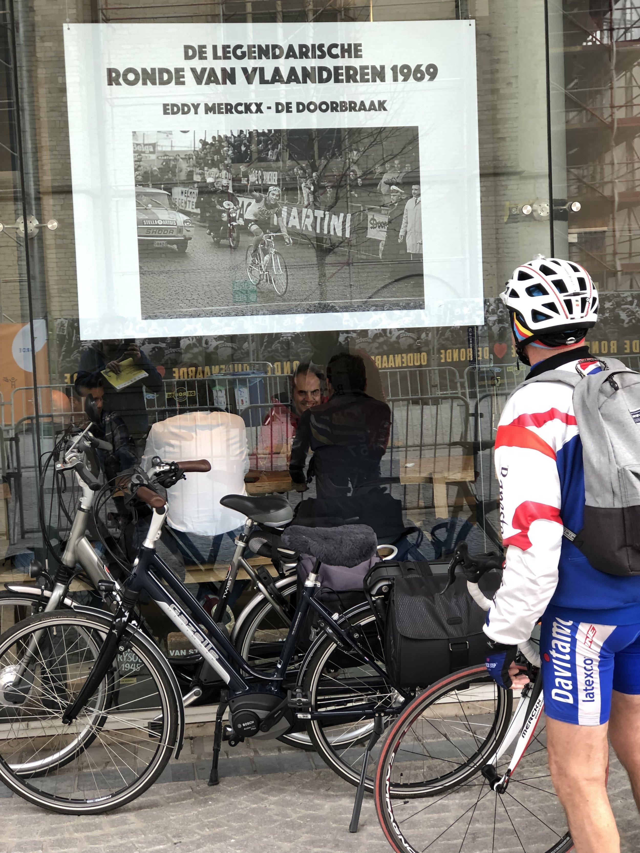 Gute Einstimmung aufs Rennen: das Museum zum Flandern-Klassiker in Oudenaarde.