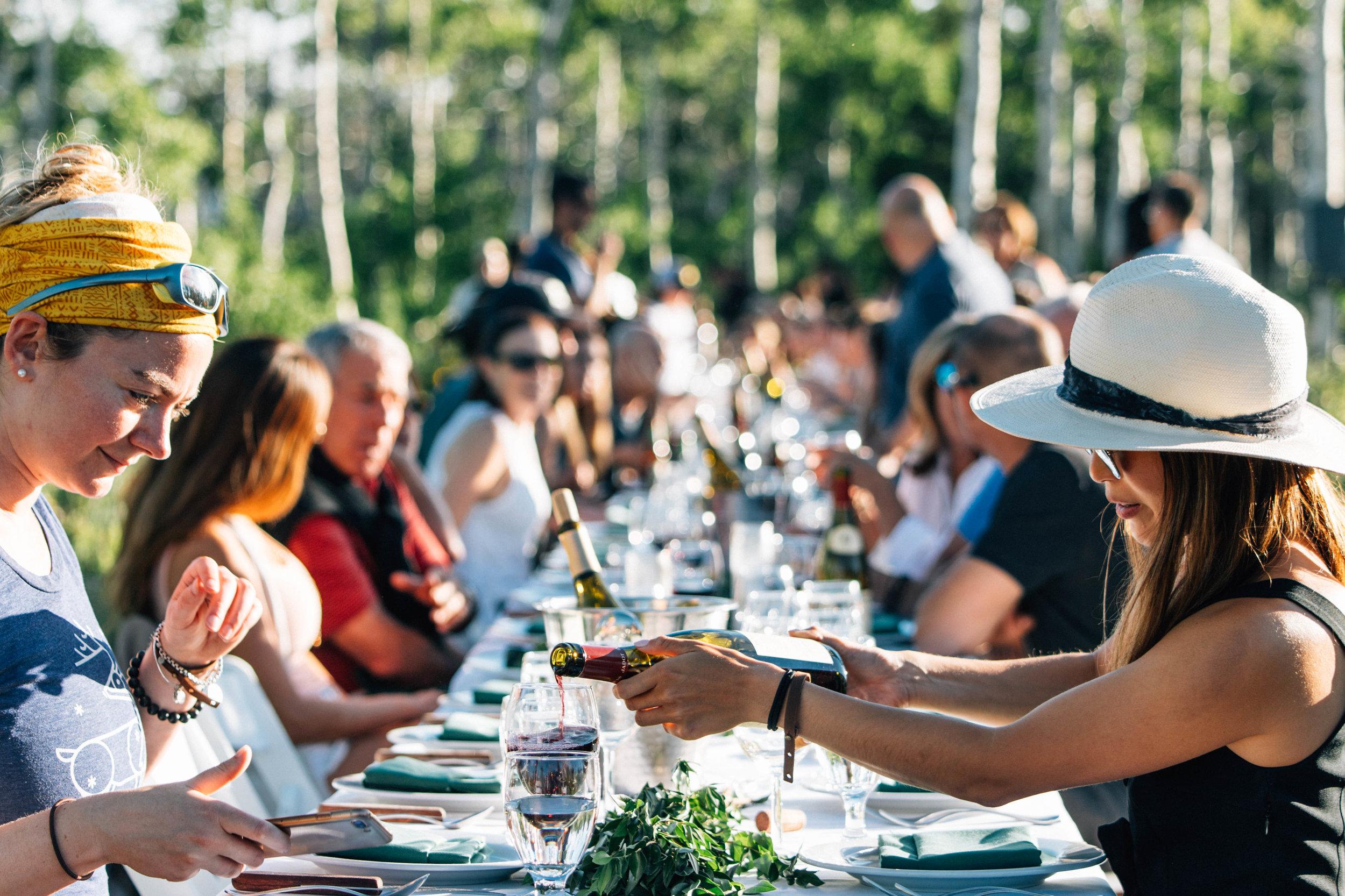 - community dining
