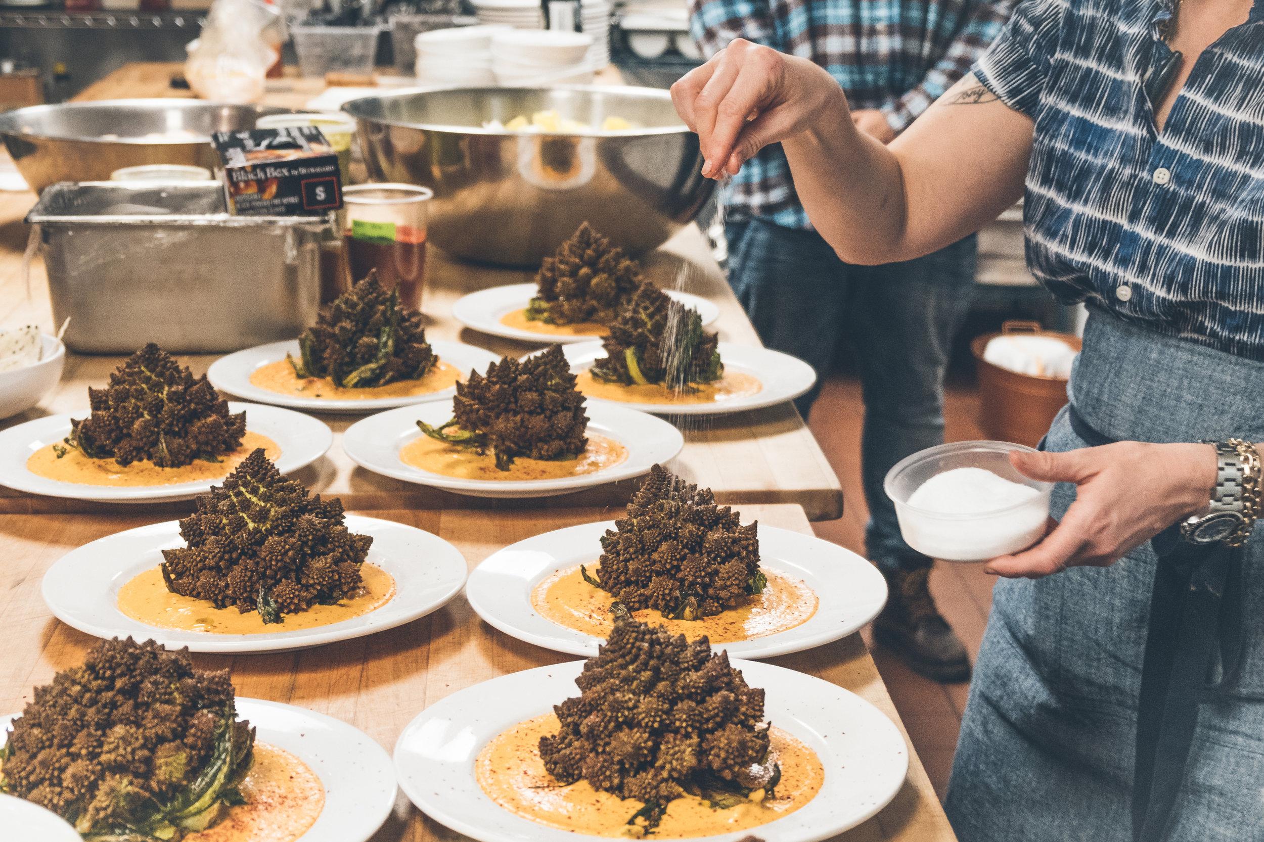 - farm to table cuisine