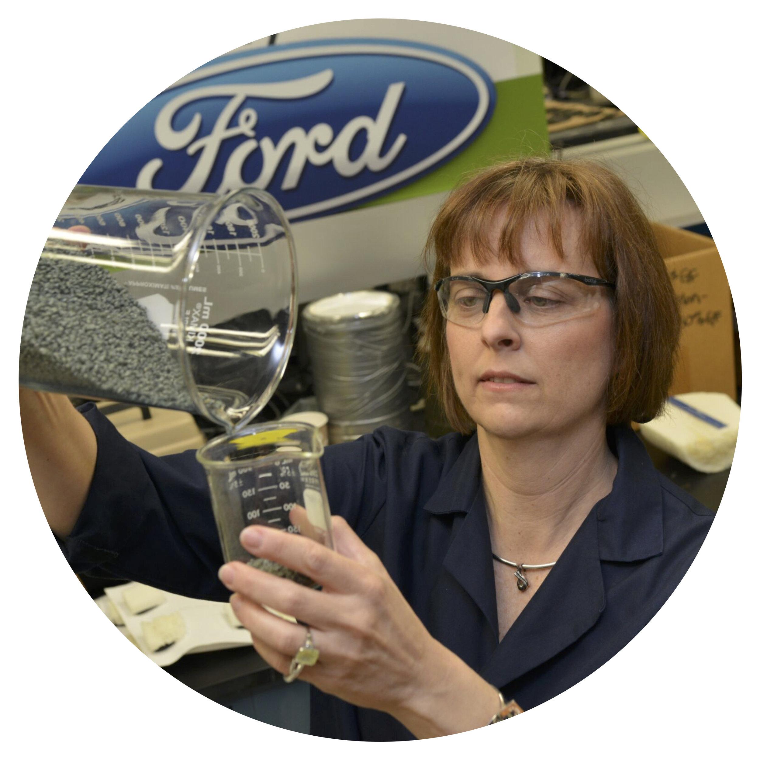 Dr. Deborah Mielewski  Senior Technical Leader of Sustainable Materials  Ford Motor Co.