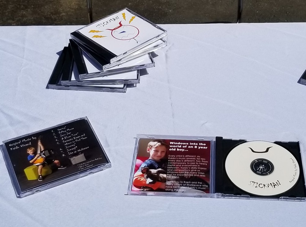 Math, executive function, art and musical composition come together through a month-long project to develop, produce, price and sell a CD of all original music.