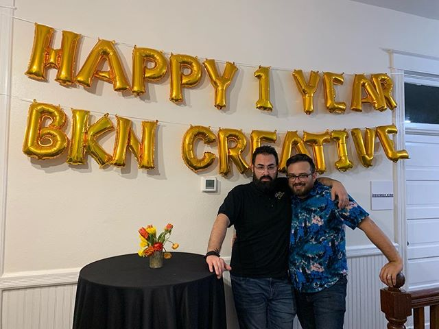 We had an amazing time last night celebrating our hosts @kevintydlaska and @bdziedzic we love you guys ❤️❤️ #1year#podcast#sobasic#bkn#headshots#tampa#bay#mamma#mia