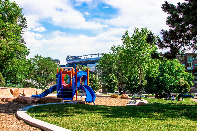 Jefferson Park playground.