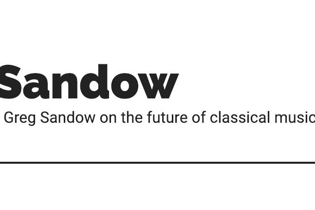 Greg Sandow Logo