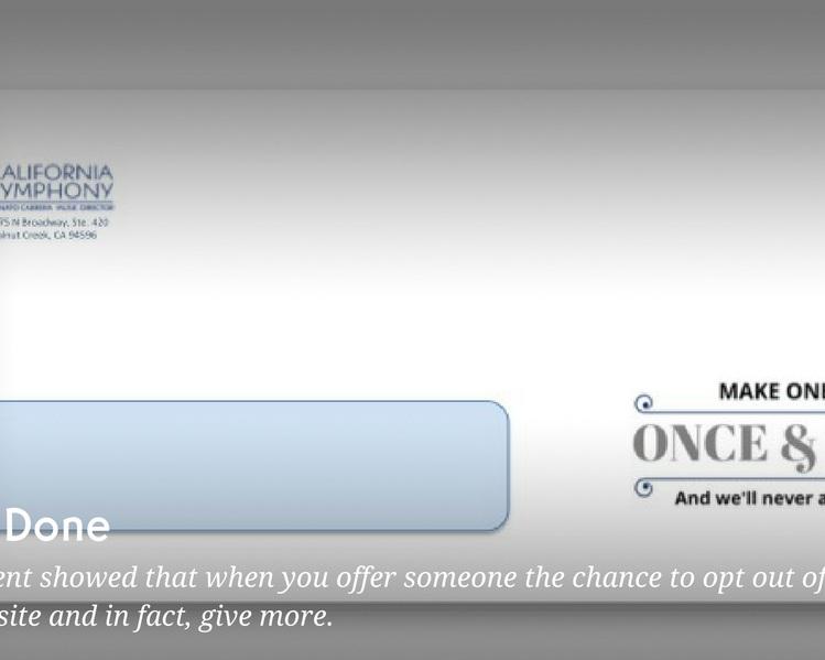 Once & Done Blog Image