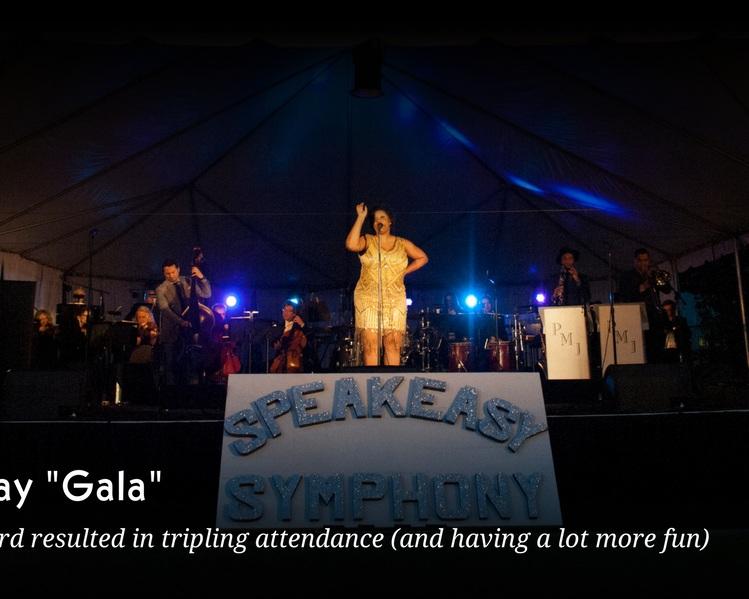 Never Say Gala Blog Graphic