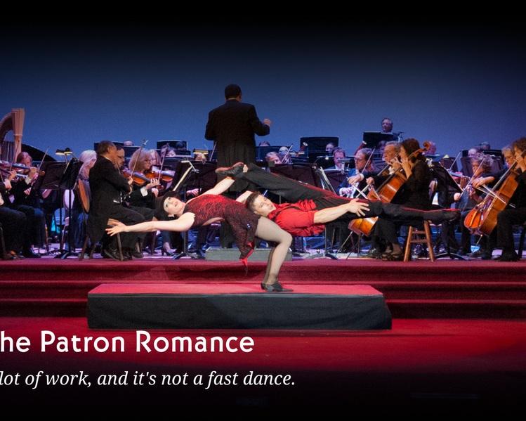 Patron Courtship Blog Image