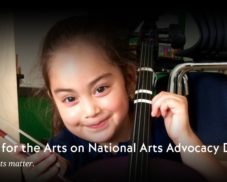 Arts Advocacy Day Blog image