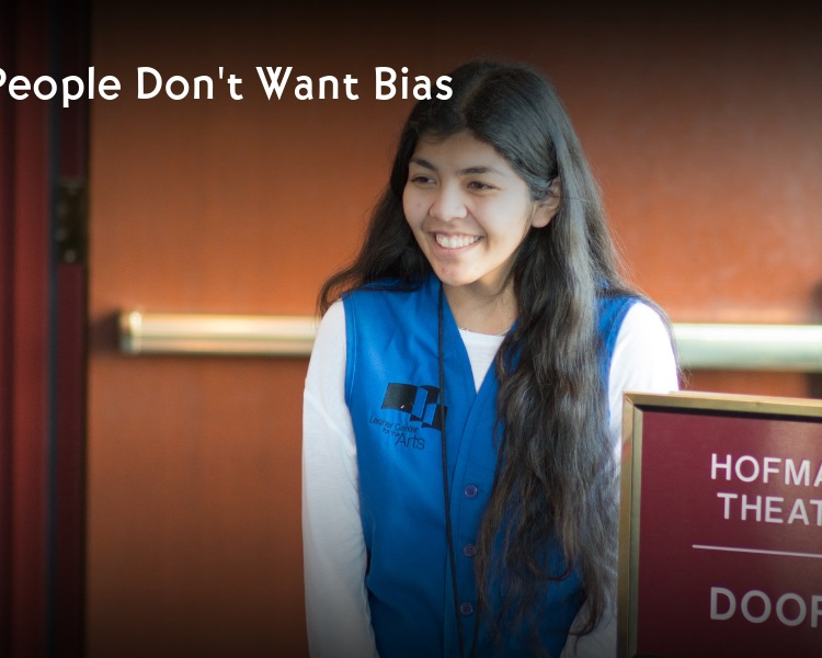 Blog post Most people don't want bias graphic