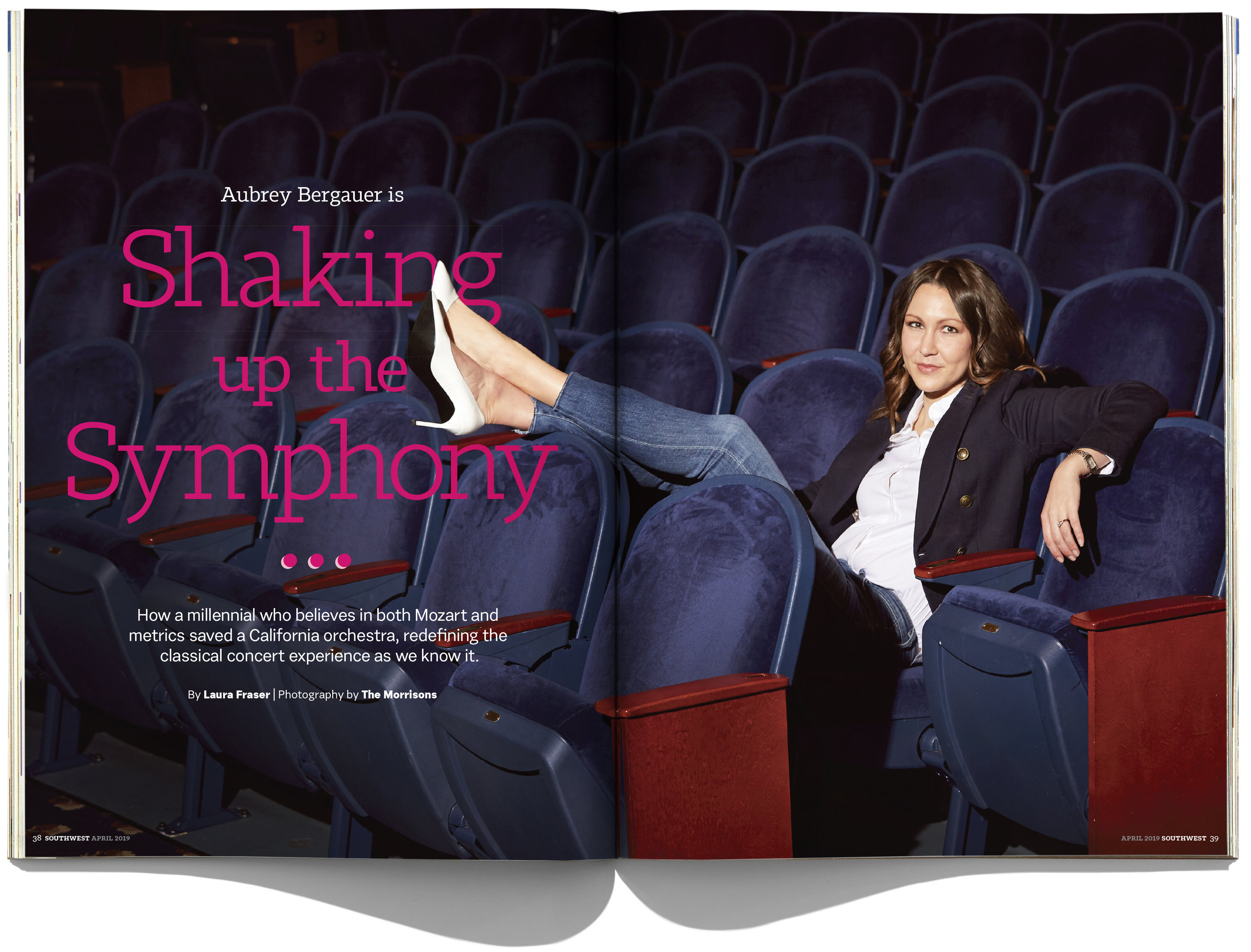 Southwest Magazine Spread