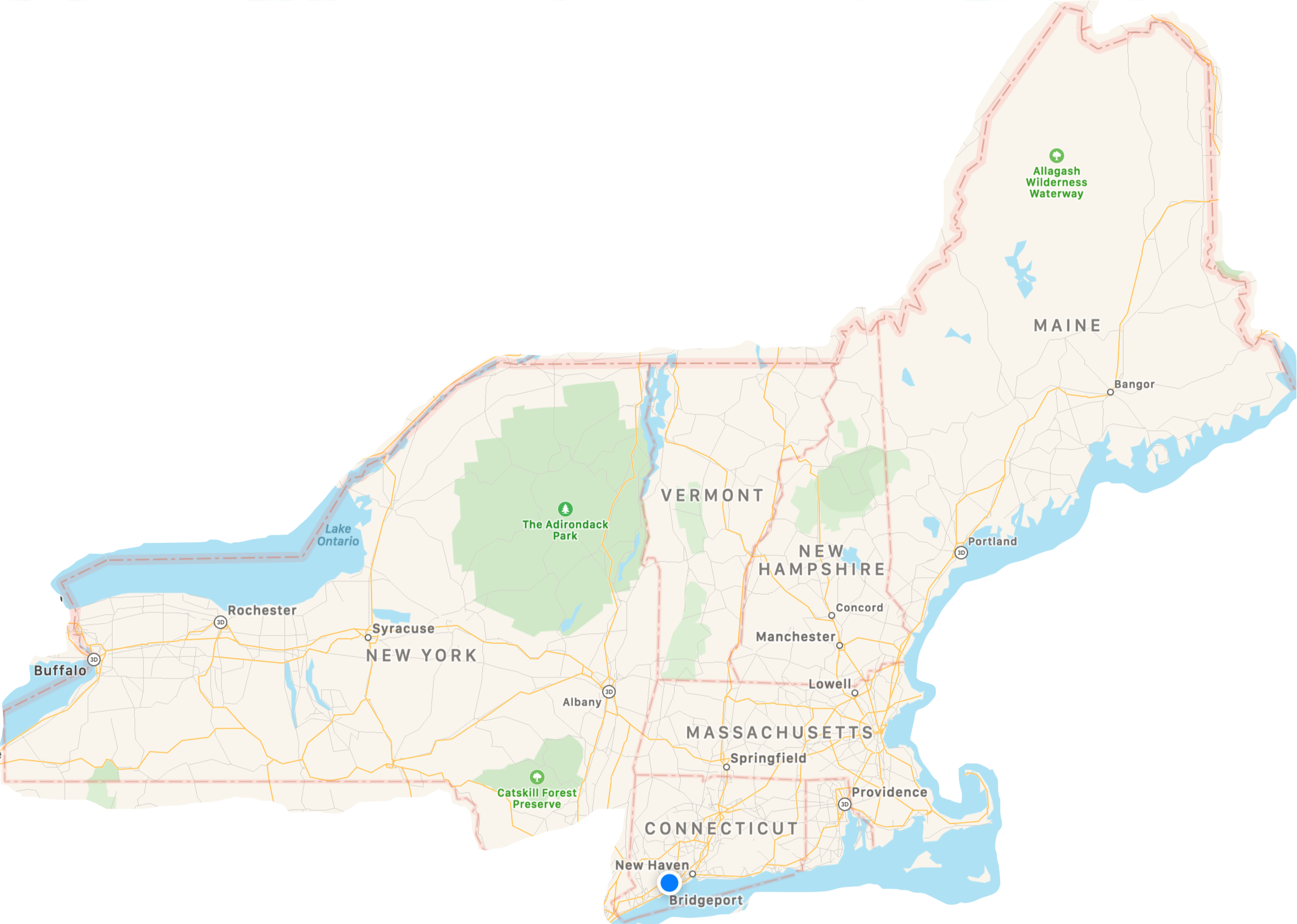 Manufacturer's representative serving New England and Upstate New York