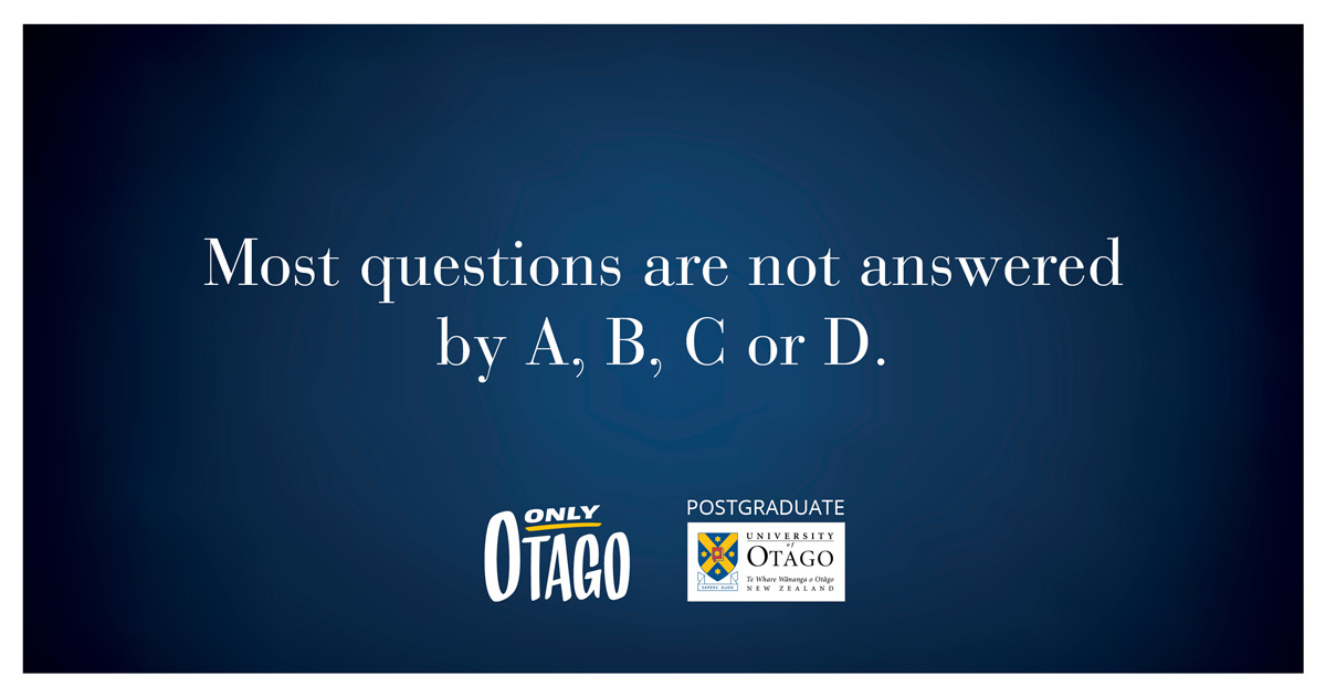 Billboards - 'Only Otago'