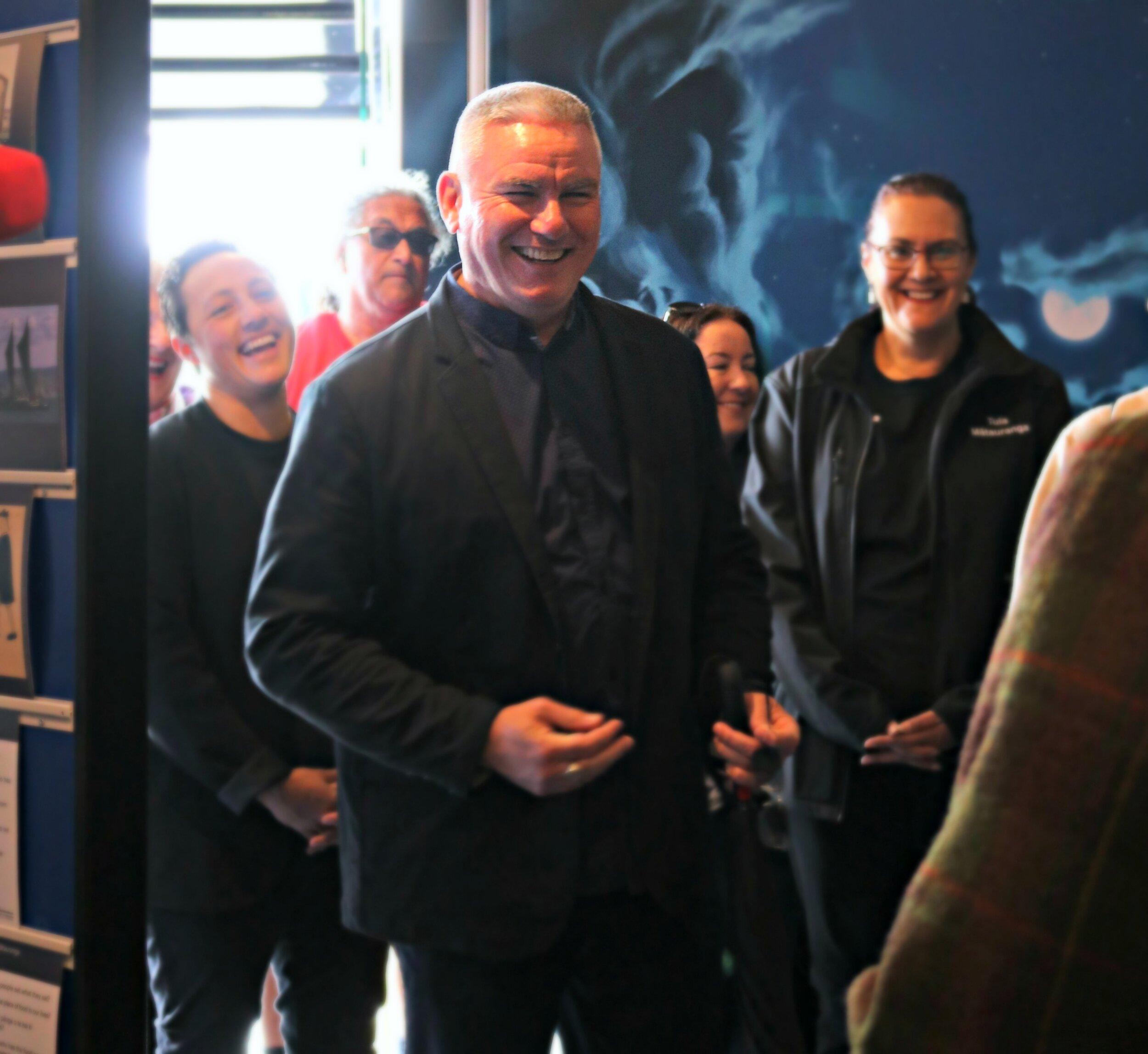 Minister for Māori Crown Relations: Te Arawhiti Kelvin Davis attends the opening of the roadshow in  Tūranga-nui-a-Kiwa - Gisborne.