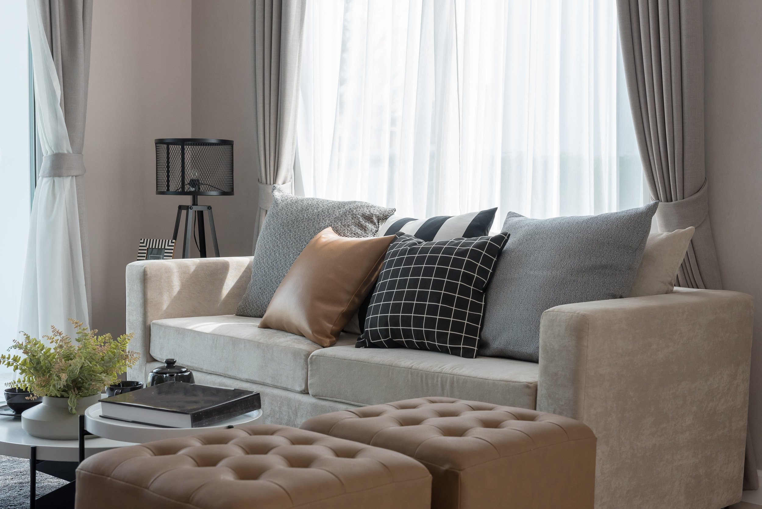 About us - We are a small, husband-and-wife duo owned and operated business based on Waiheke Island, New Zealand that specialises in the supply and installation of a wide range of Blinds, Curtains, and Shutters.