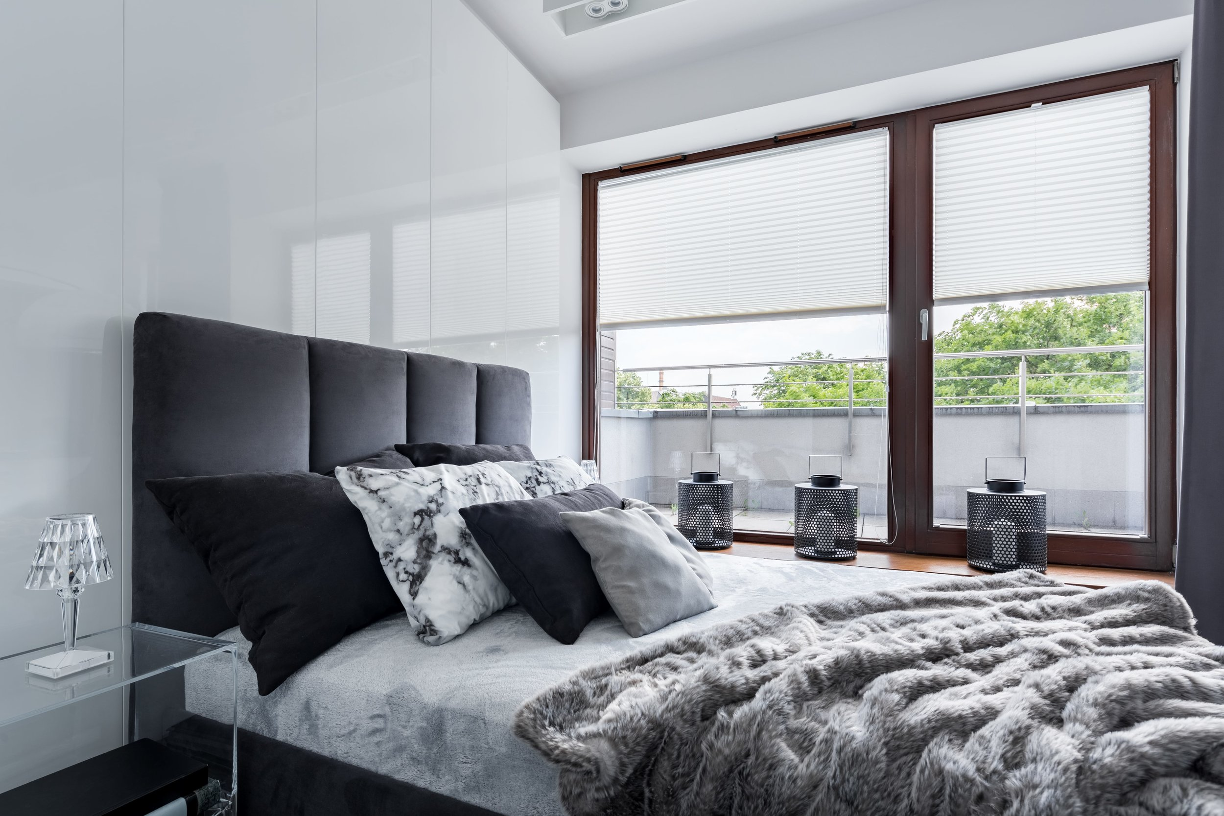 About Us - We are a small, locally owned and operated business based on Waiheke Island, New Zealand that specialises in the supply and installation of a wide range of Blinds, Curtains, and Shutters.