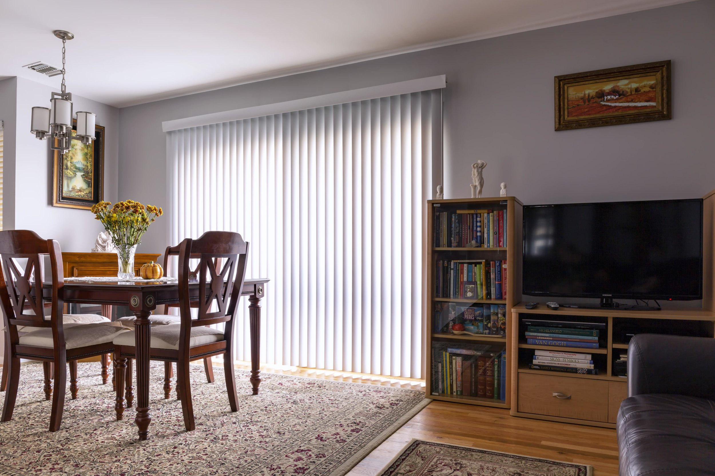 Vertical blinds - Waiheke Blockout Co.