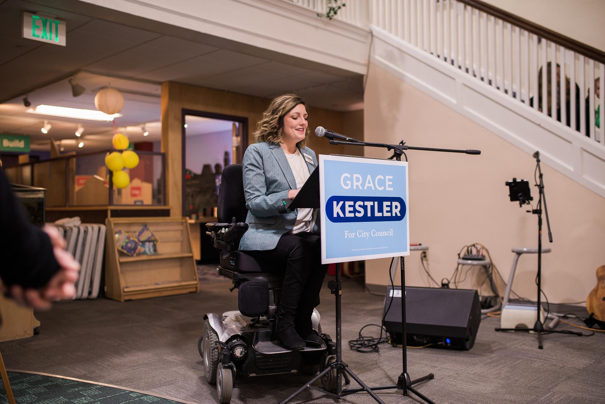 Elect Grace Kestler