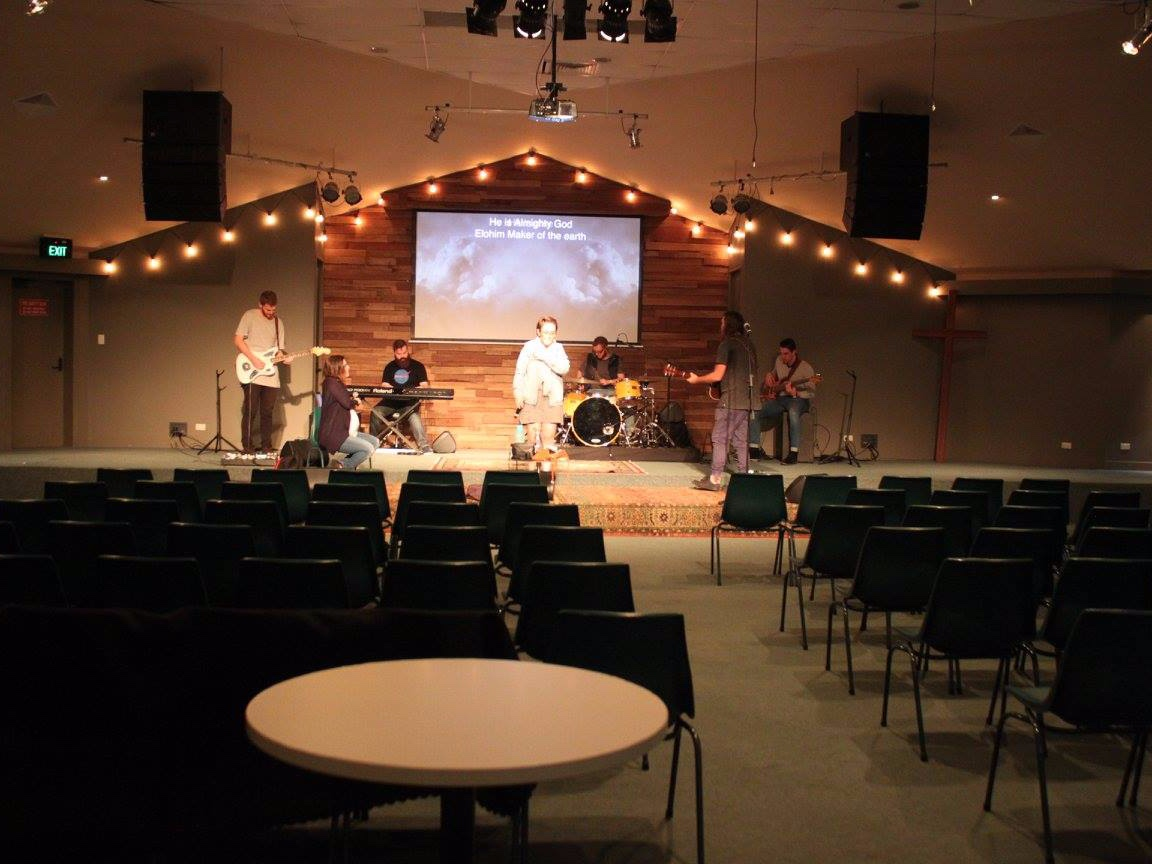 Logistics team - Helping with all the things that make Sundays work.Auditorium set-up, Communion Prep., Offering Count