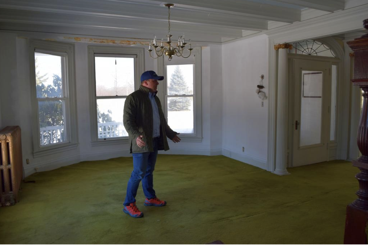Josh Benthian of Northland Enterprises said converting 265 Cottage Road in South Portland into an inn will have minimal impact on neighbors and fit well in the Meetinghouse Hill neighborhood.