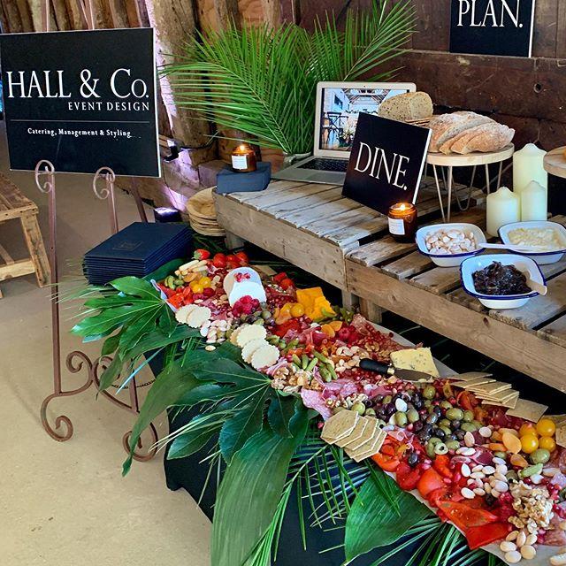Food at 'The Barn' the amazing @hallandcoeventdesign team and their yummy grazing tables ❤️ @thebarnatbrookendgreenfarm • • #barnwedding #barnvenue #weddingcatering #grazingtables #weddingbarn #weddingfood #weddinginspo #barninspo #weddingsuppliers