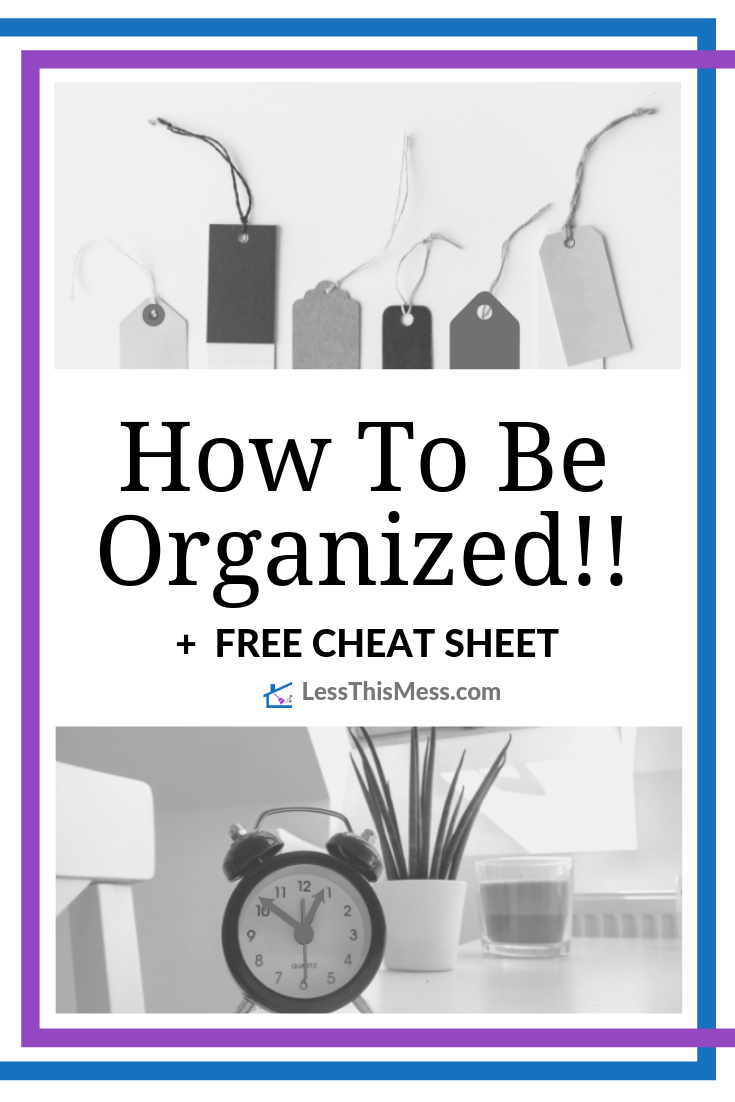 Do you need to Declutter and get Organized? Let's Clear The Clutter from your space together with my 5 Organizing Tips when you're feeling overwhelmed!