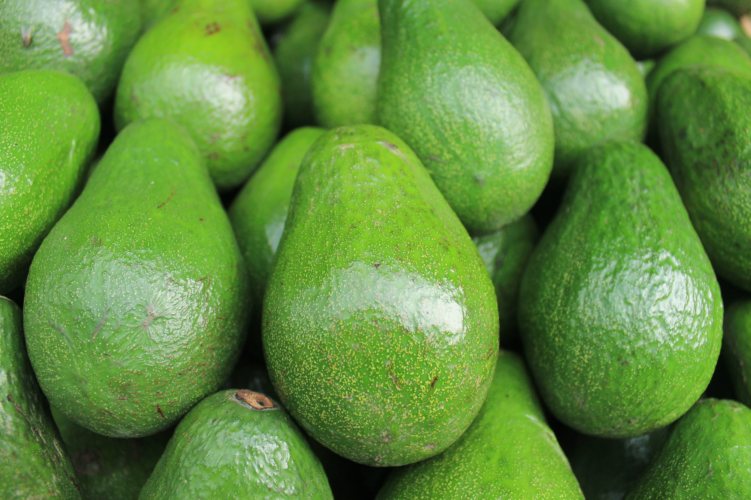 Avocado - Avocado's are a great source of Vitamins C, E, K, and B-6, as well as riboflavin, niacin, folate, pantothenic acid, magnesium, and potassium. Avocados have more potassium than bananas. Avocados are high in monounsaturated oleic acid, a heart-healthy fatty acid. They are also full of fiber which helps with weight loss and metabolic health.
