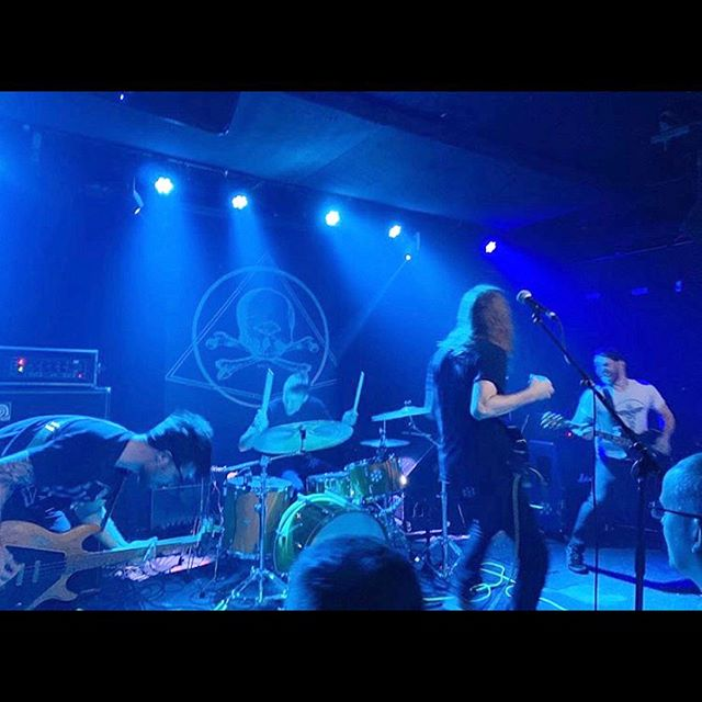 NYC - thank you guys for making Saturday a perfect night. Thank you @gatesmusic, thank you @constantstheband, thank you @glassingband, thank you @saintvitusbar. Thank you to everyone at @dunkfestival, thank you @dunkrecords, thank you to anyone who has bought/listened to the From Fathoms remaster. We don't know what/if there's anything next, but we do know that popping our head above ground this year and firing up the riff machine again has been all we could've imagined. Xoxo - GFE