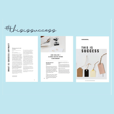 Workshop& - This is Success with Pollyanna Lenkic eBook Feature. DOWNLOAD THE EBOOK HERE
