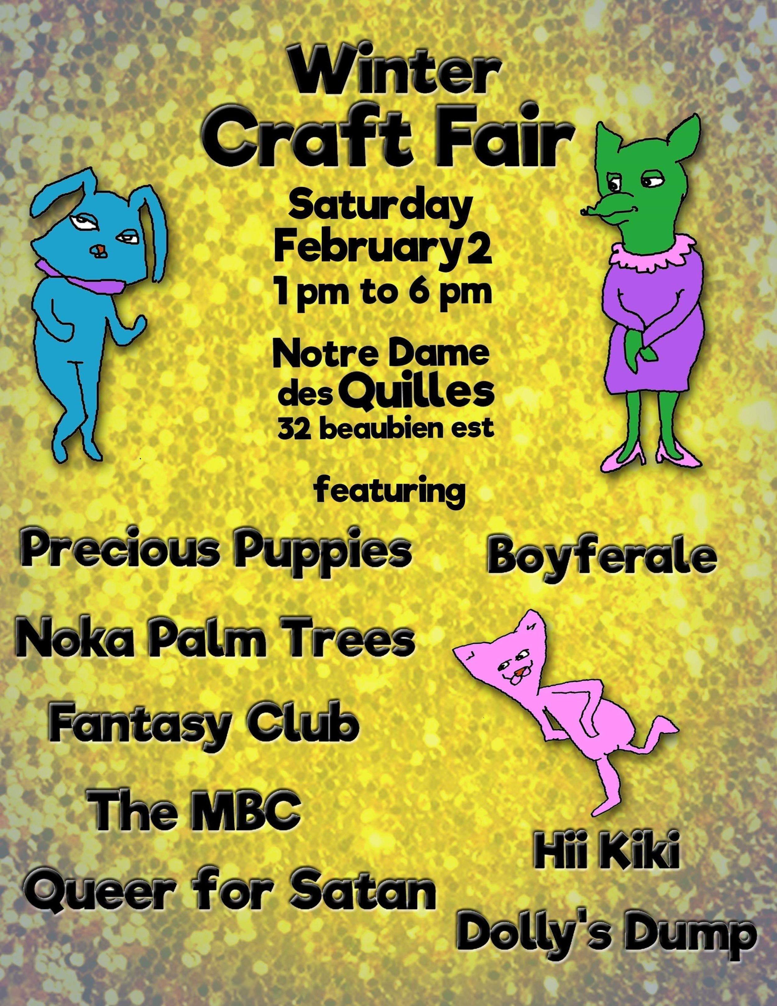 Leonore craft fair