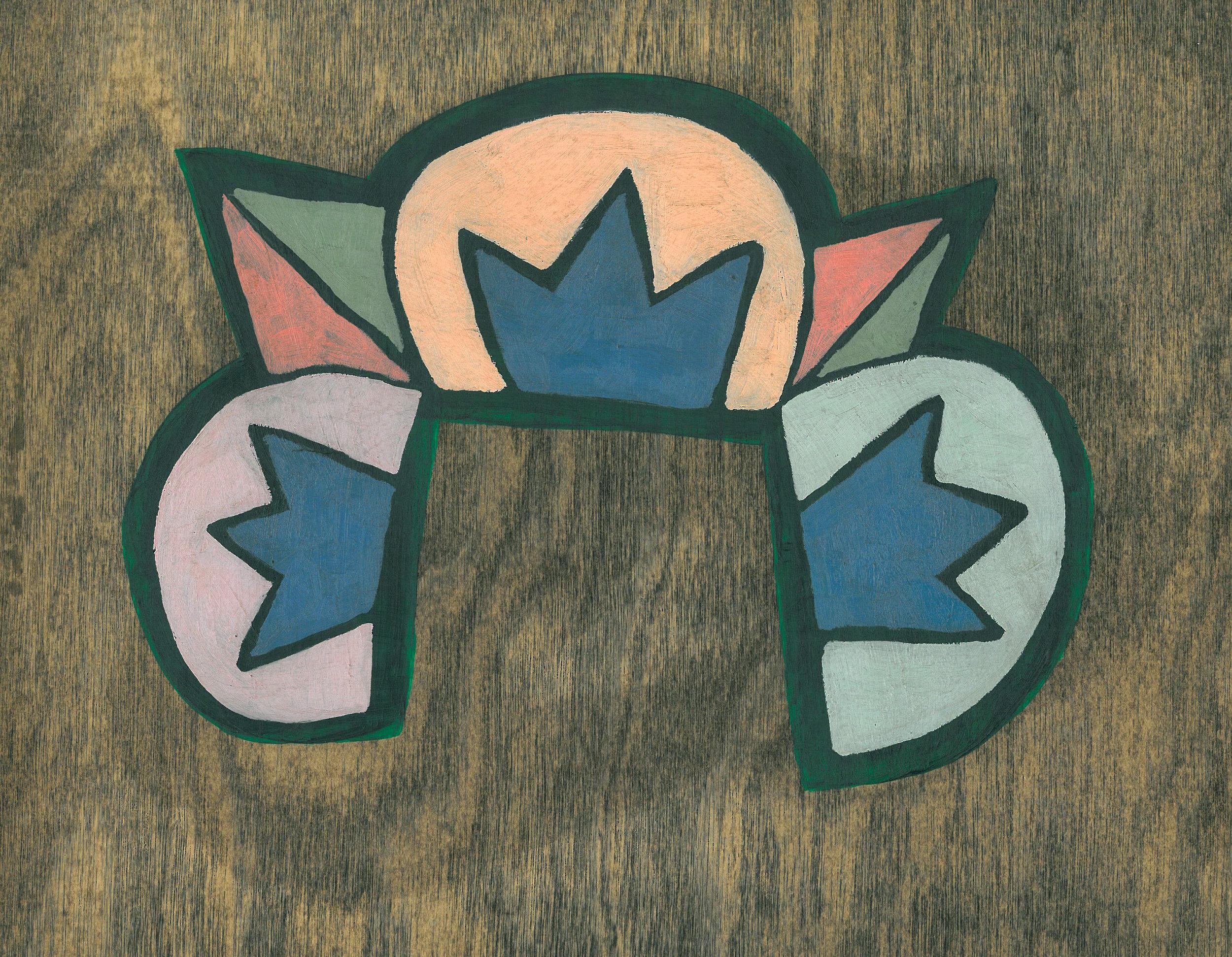 Art Deco on Wood #3