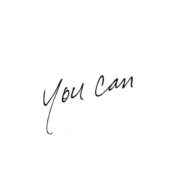 """Yeah you can. """"Whatever the mind can conceive and believe, it can achieve. """" // Napoleon Hill, Think and Grow Rich. 👌🏼🙌🏼"""