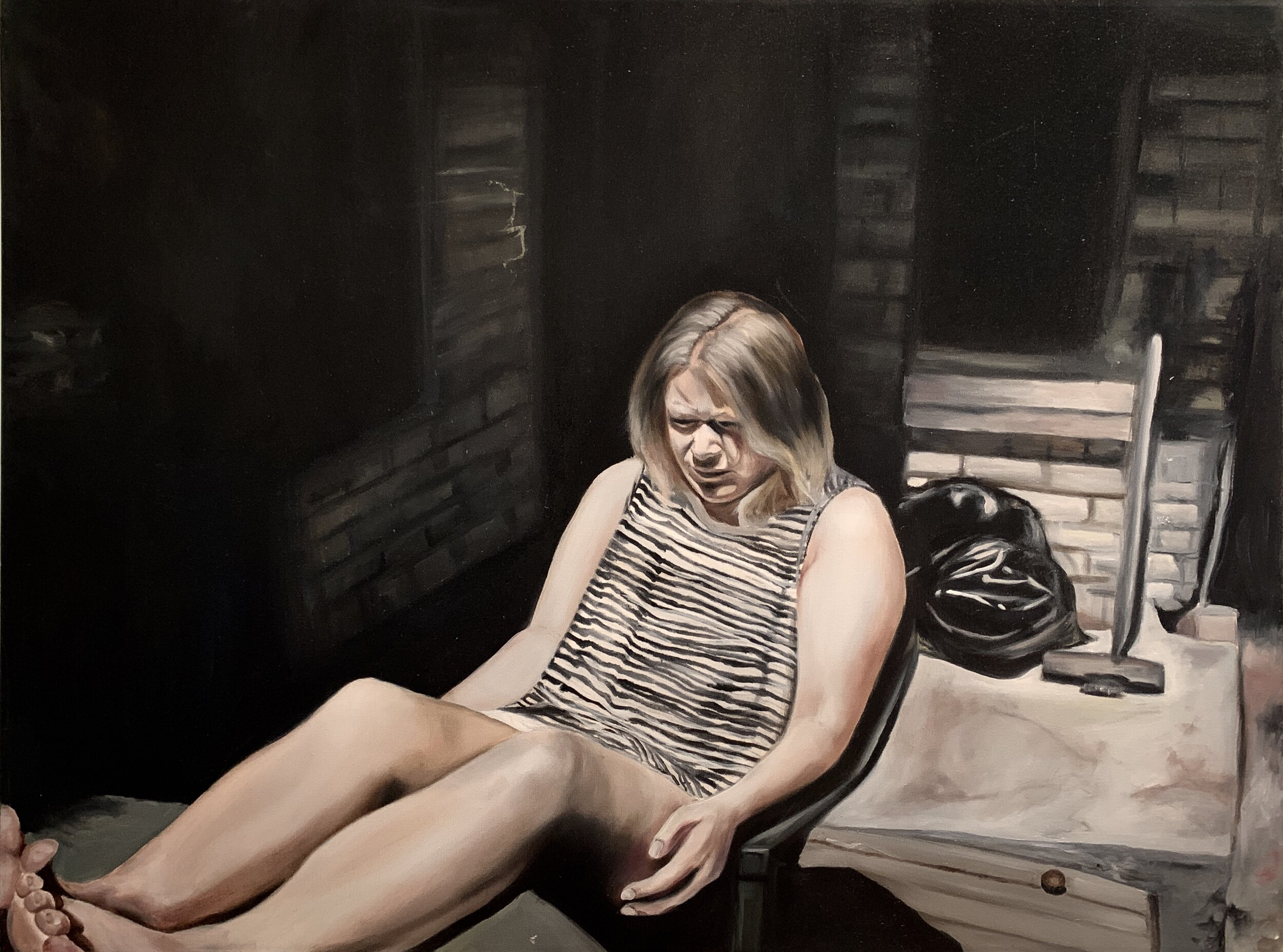 """Morning   Oil on canvas  36"""" x 24"""""""
