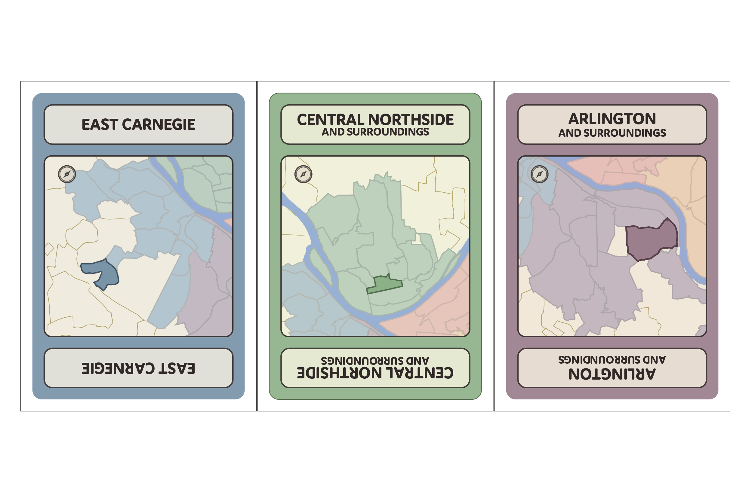 Neighborhood Cards*65 by me
