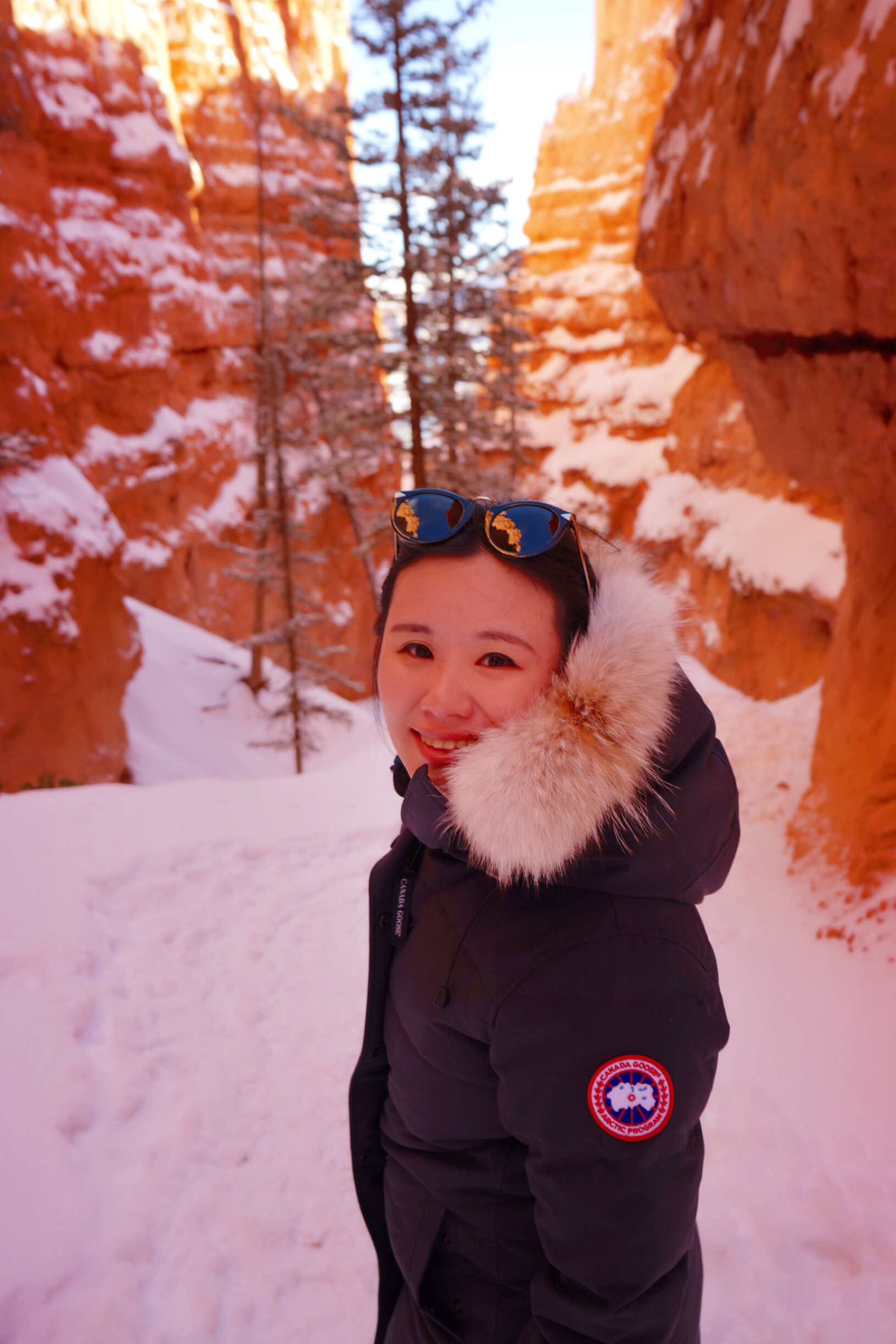 Bryce Canyon National Park, Utah. Jan 2019