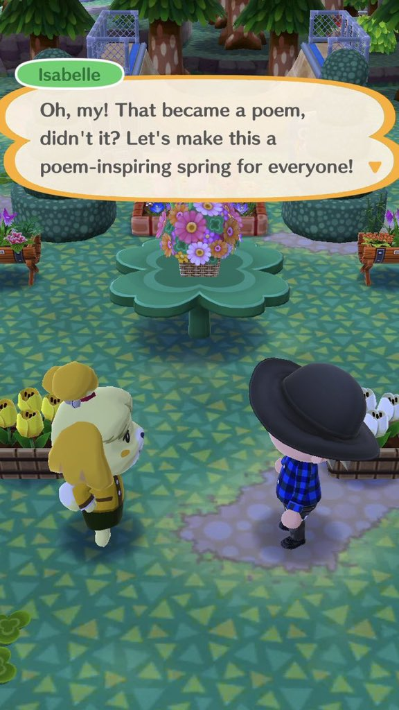 Screenshot from Animal Crossing: Pocket Camp