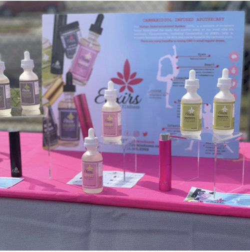 Elixirs by Kindness   Elixirs by Kindness is a boutique line of Cannabidiol-Infused Apothecary created for the mature consumer. The EBK Spritzer is their signature micro-dosed tincture spray that leads a unique collection of plant CBD and CBD-only infused supplements, topicals, and cooking oils. Their goal is to provide effective medicine for consumers, in discreet and responsible packaging. Their mission is to bring awareness to the infinite healing power of the mind, body, and spirit through Cannabis and all things wellness.