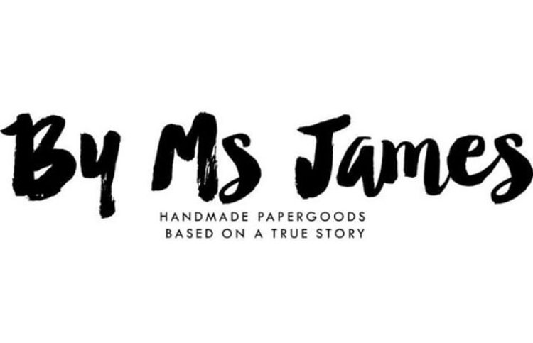 By Ms James   By Ms James is a paper goods company based on the real life experiences and adventures of Tara James. She's funny, honest, quirky, lovable and extremely relatable. Her beliefs are her own but are shared with and by many. She's a bold, curious free bird who curses like a sailor and is guided by her spirit and creativity.