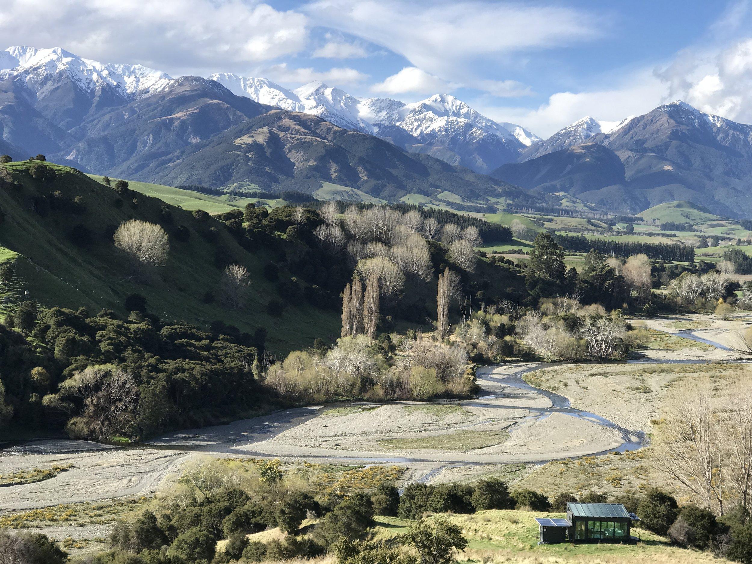 Kahutara, Kaikōura. New Zealand (image by Jacqui Gibson).