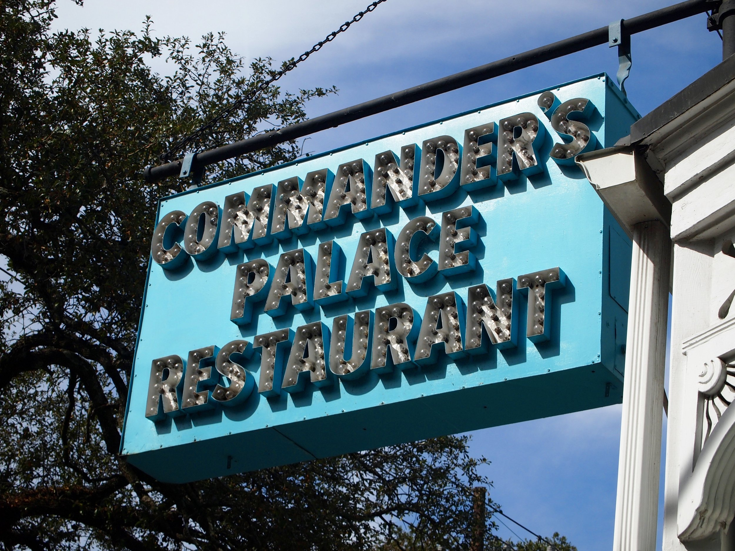 Commander's Palace, Garden District, New Orleans (image by Jacqui Gibson).