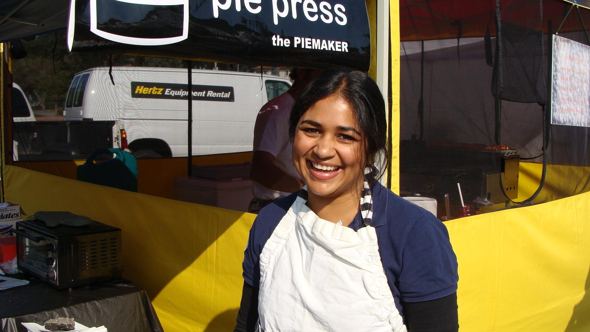 Alka Patel, pie maker. San Francisco, USA.