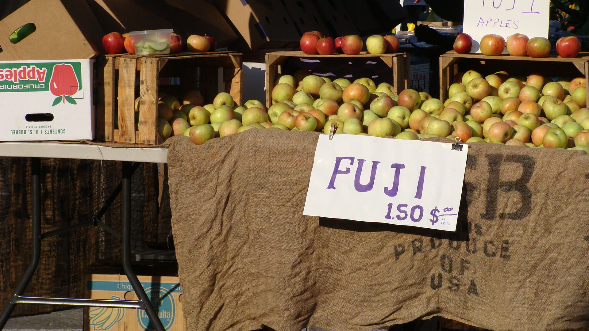 Stonestown farmers' market, San Francisco.