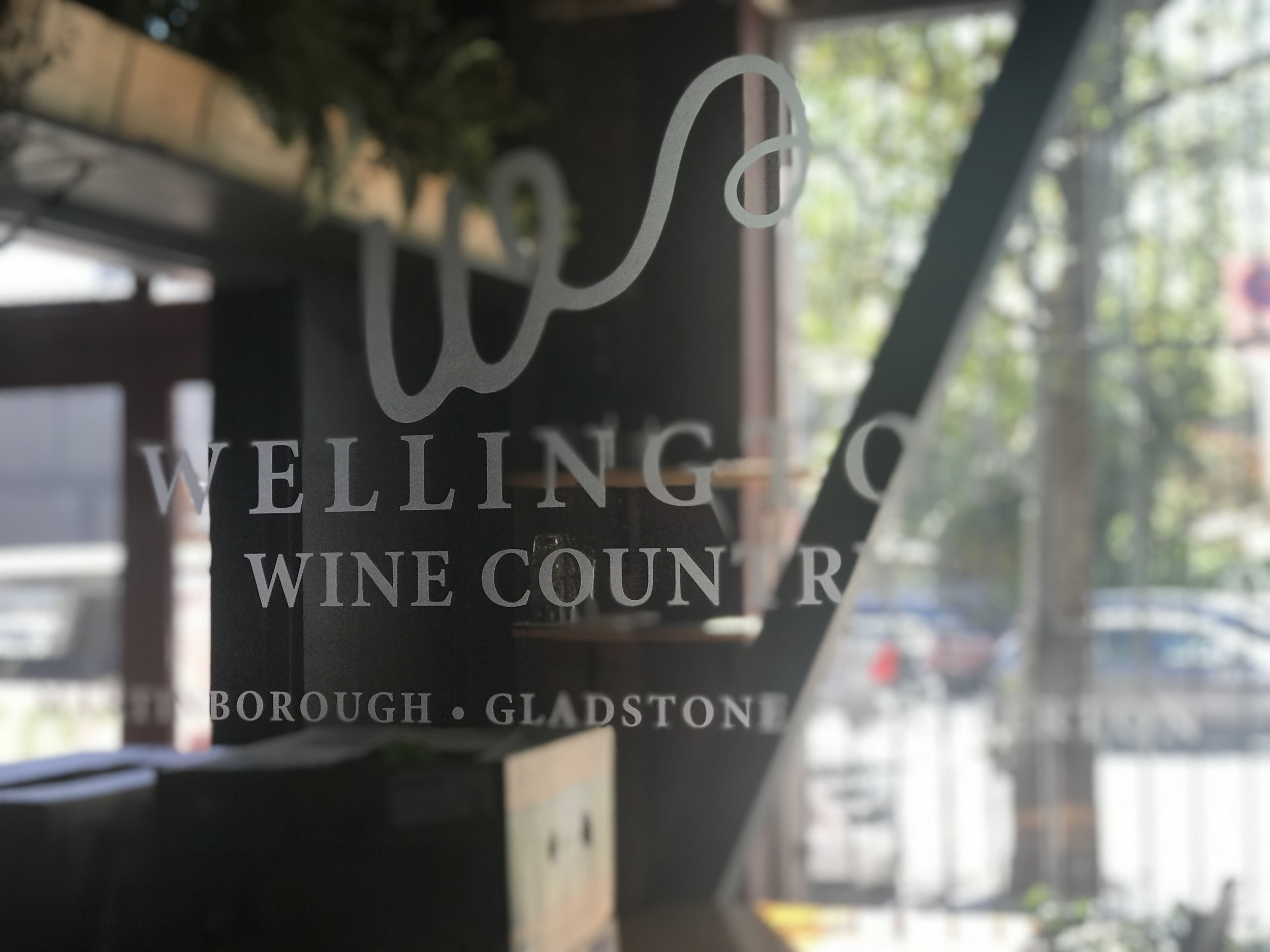 Door to Noble Rot's Wellington Wine Country Room (image by Jacqui Gibson).