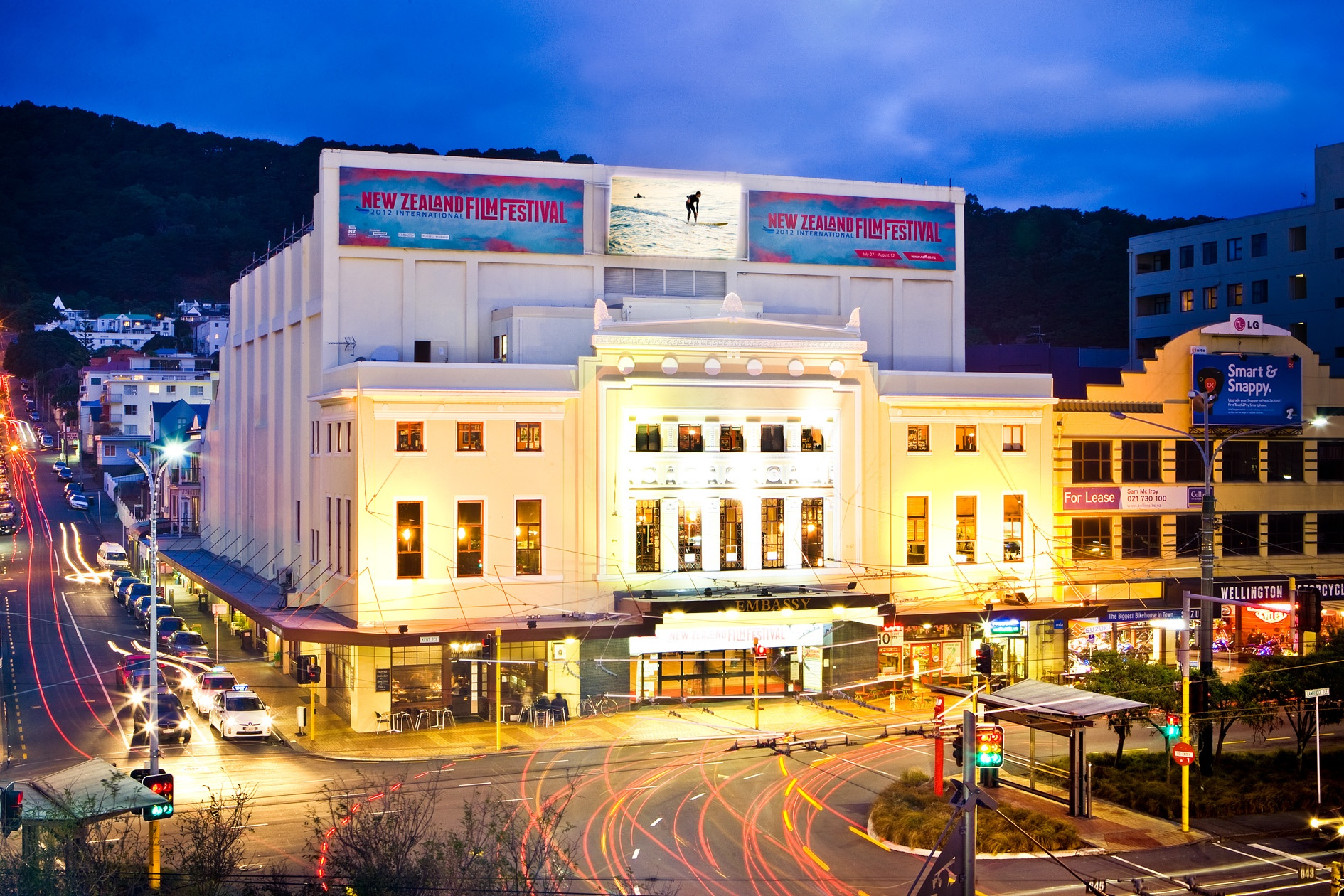 Wellington city (image care of WellingtonNZ.com).