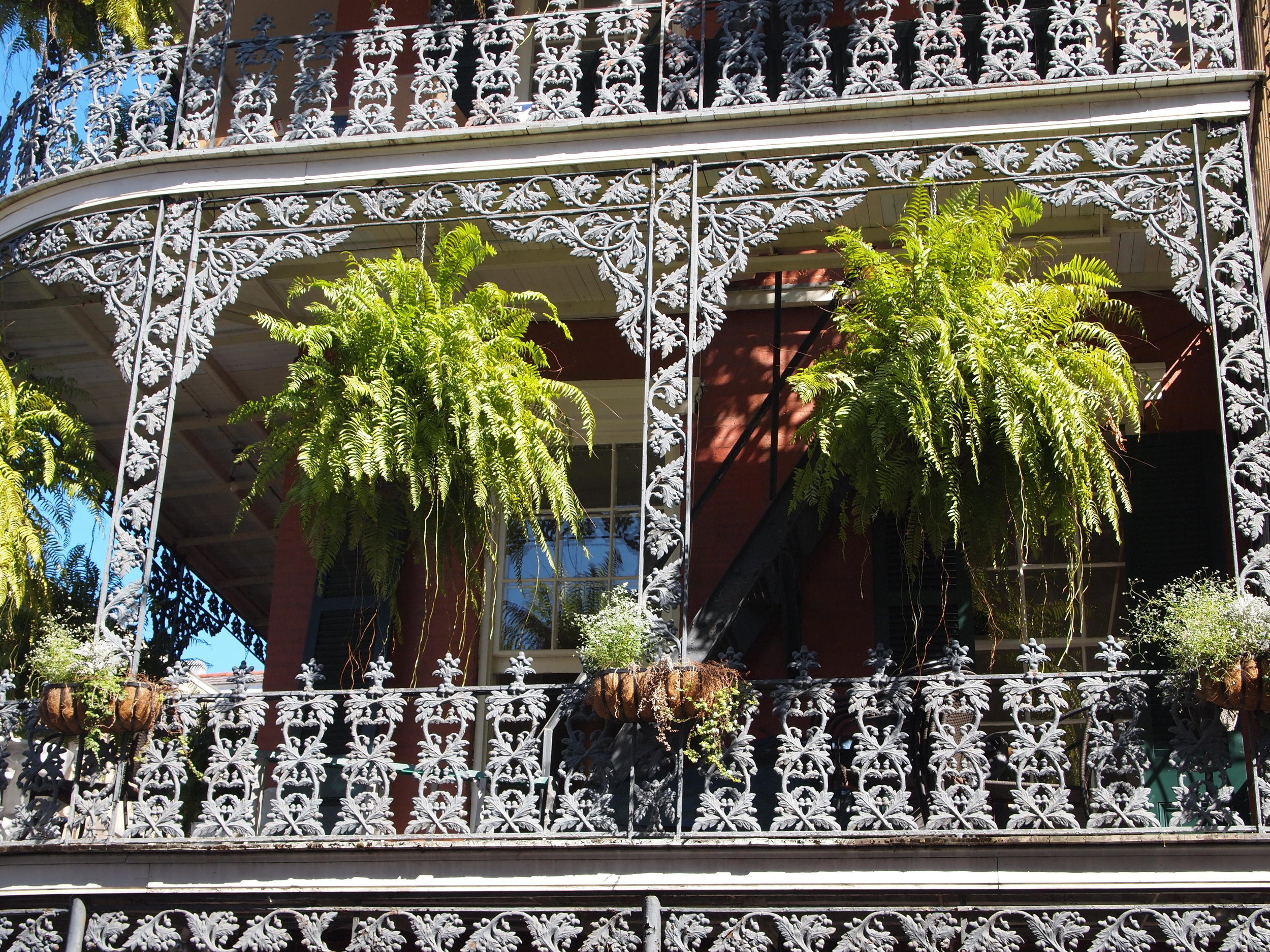 Ornate balconies of the French Quarter, New Orleans (image by Jacqui Gibson).