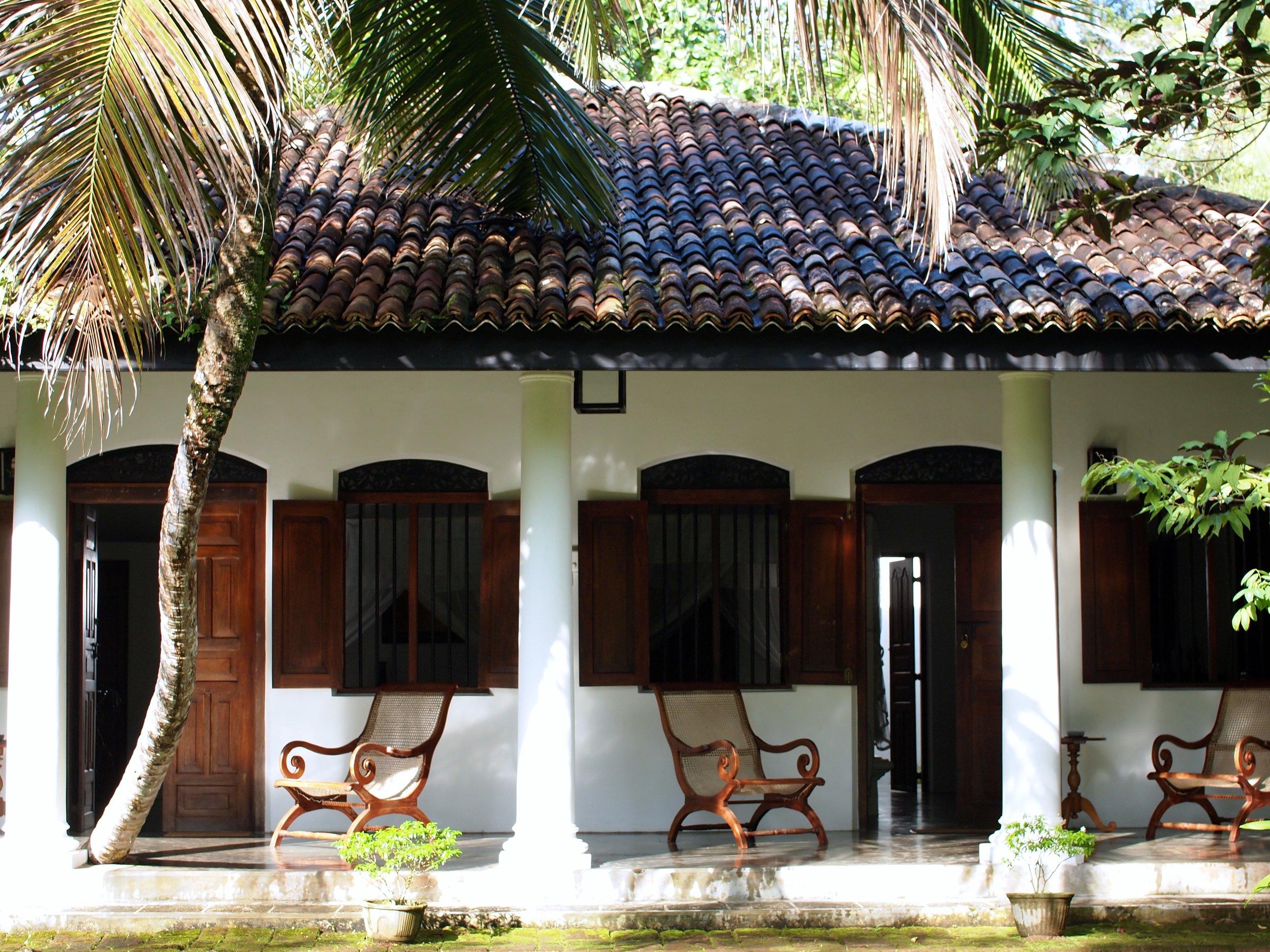 Nisala Arana bungalow, Sri Lanka (image by Jacqui Gibson).