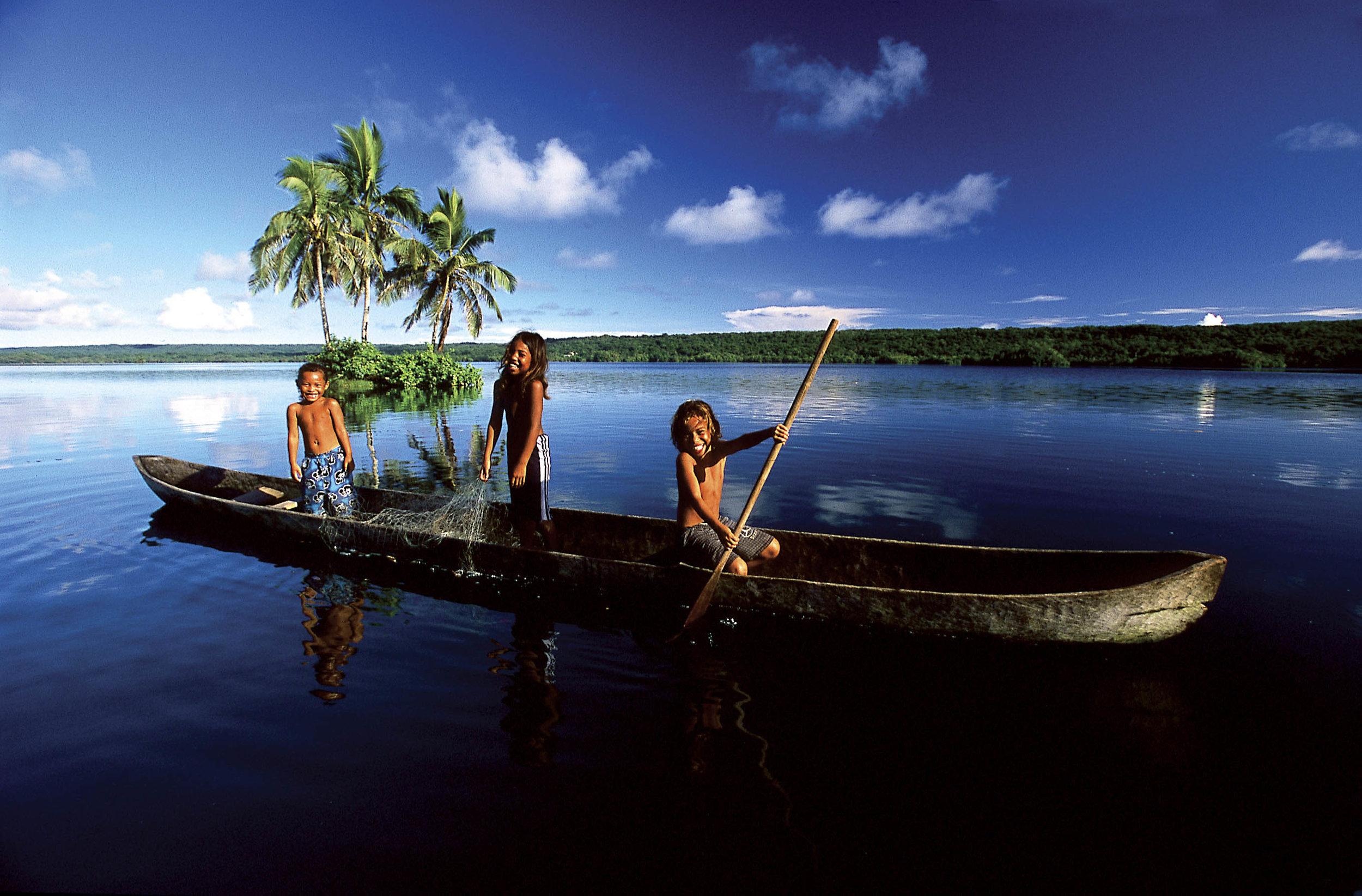 Kids of the Solomon Islands (image care of the Solomon Islands Visitors' Bureau).